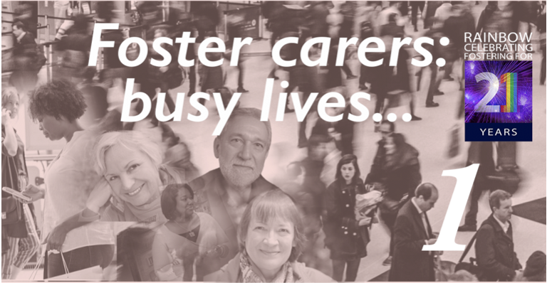 Foster carers have busy lives 1