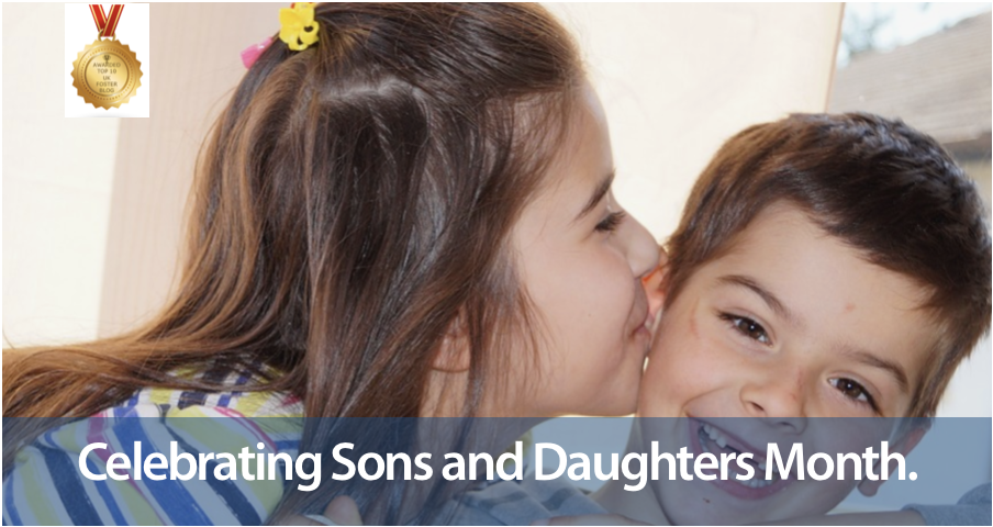 Foster carers celebrate sons and daughters month